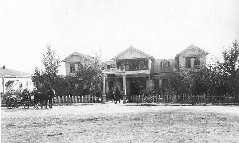Елховка барский дом
