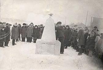 Куликовка первый памятник