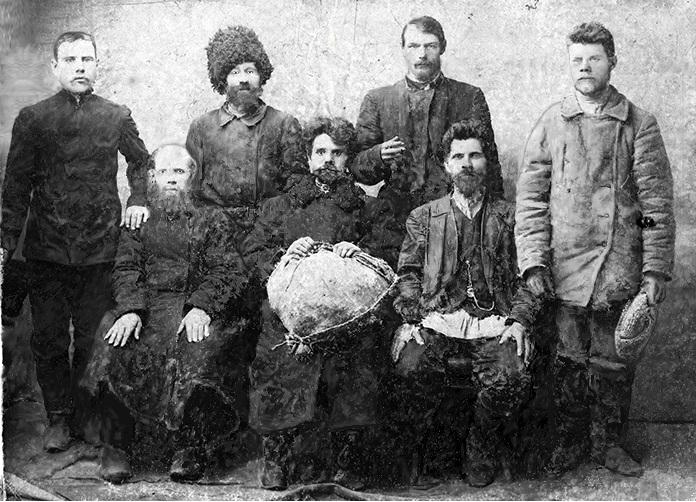 Крестьяне деревни Александровка