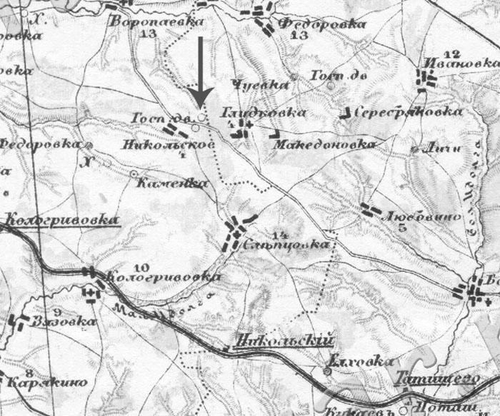 Взовка на карте стрельбицкого