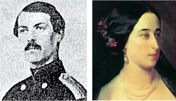 Леонид Николаевич и Мария Александровна Гартонг