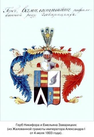 Заварицкие герб
