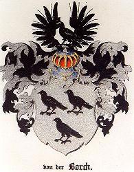 Герб дворянского рода Борх