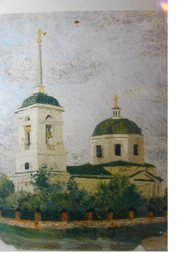 Норден картина церкви