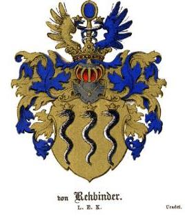 Герб дворян Ребиндеров