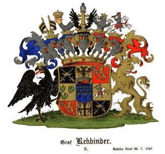 Герб Римской империи графов Ребиндер