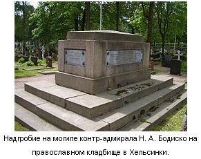Могила Николая Бодиско