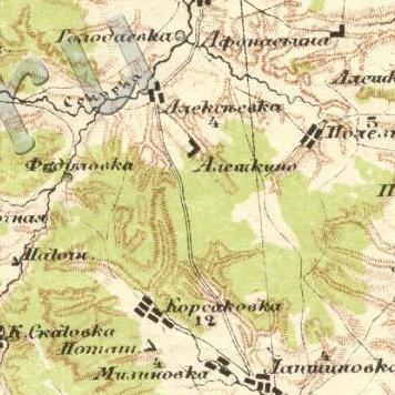 Быковука Новая на карте