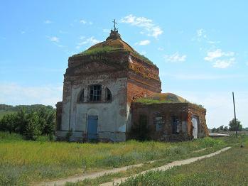 Курдюм. Современный вид церкви.