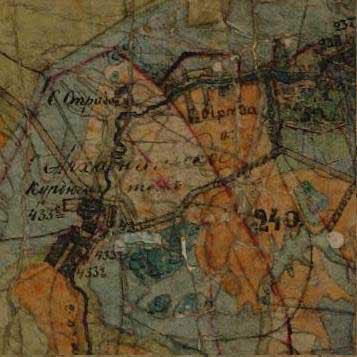 Курдюм на Плане Генерального межевания